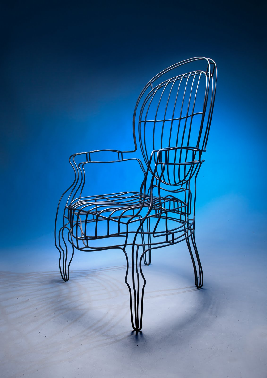 Wobble Chair Research Leg Sliders No End To Design Salone Internazionale Del Mobile 2011
