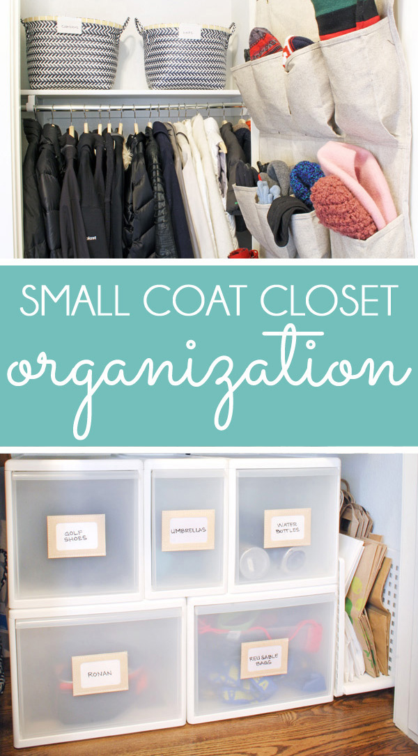 Coat Closet Storage - Small Coat Closet Organizing Ideas & Small Coat Closet Storage Solutions | Blue i Style - Creating an ...