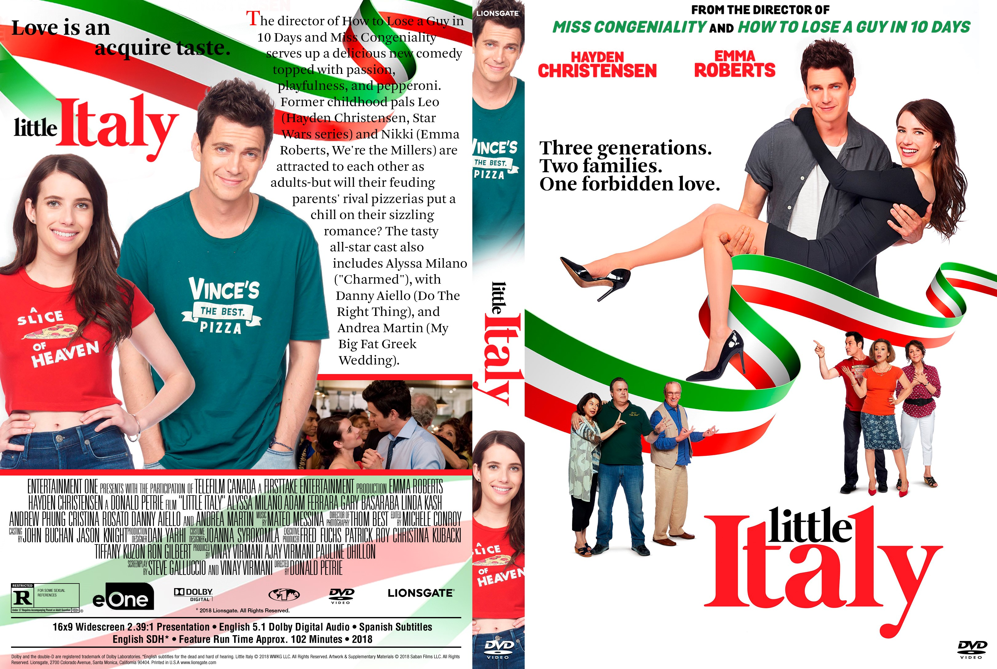 300 Full Movie >> Little Italy DVD Cover - Cover Addict - DVD and Bluray Covers