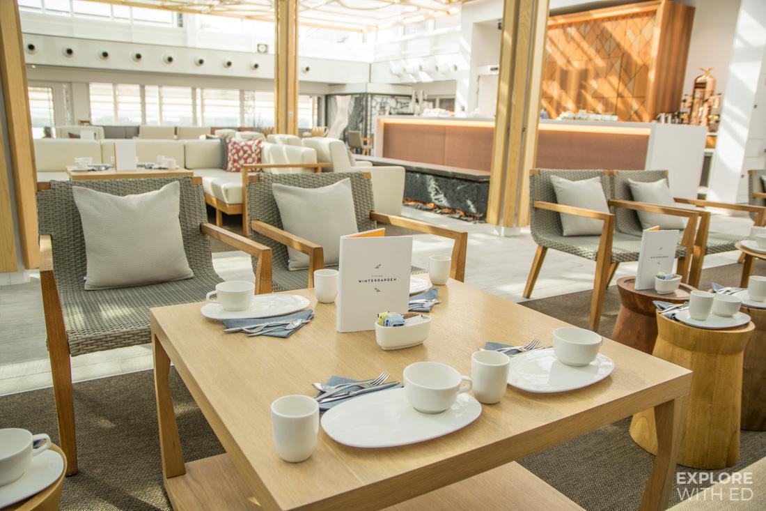 Winter Garden Afternoon Tea on Viking Cruises