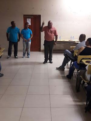 Regidor Eddy Tejada respalda reclamo de la junta de vecinos del Ivan Guzman klang