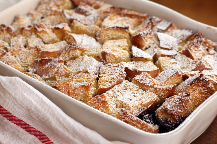 Blueberry Baked French Toast || A Less Processed Life