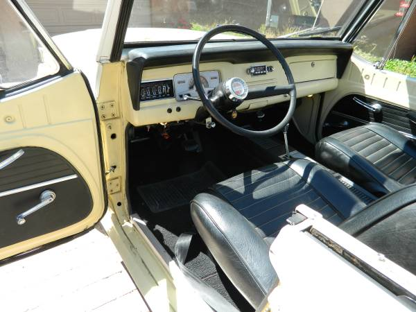 1967 Kaiser Jeepster Convertible Auto Restorationice