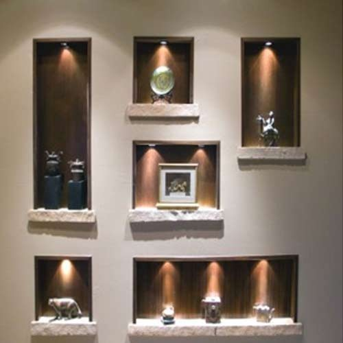 Indirect Lighting Techniques And Ideas For Bedroom Living: Best Wall Niches Designs With Indirect Lighting For Living