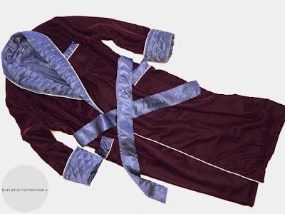 mens luxury stylish dressing gown dark burgundy silk velvet wine red robe long full length warm lined gentleman housecoat