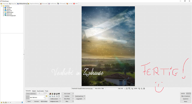 PhotoScape Anleitung und Schritt für Schritt mit Bilder-Tutorial: Funktion Weichzeichner oder Effekt Brush