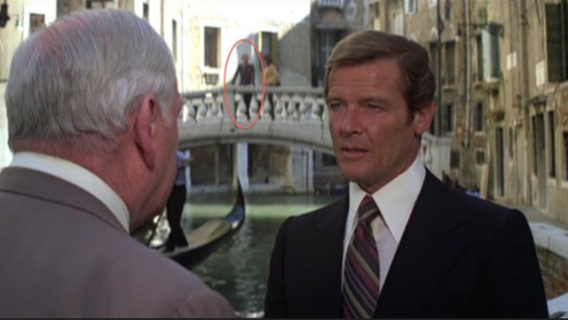 BOND  The Michael G  Wilson Cameos   Warped Factor   Words in the     A double helping of Where s Wilson  as eagle eyed viewers can spot him  strolling the streets of Venice  and also working as a NASA technician