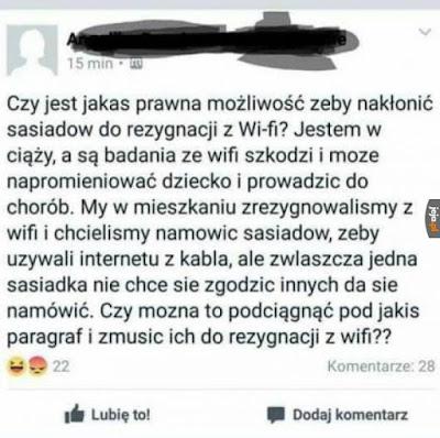 wifi promieniowanie
