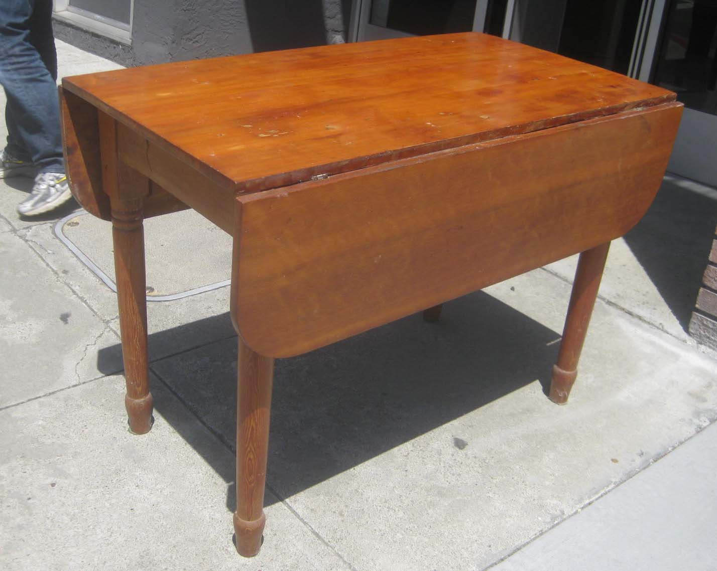 Sold Pine Drop Leaf Table 60