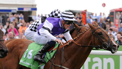 Ben Curtis (Jockey) riding a winner at York
