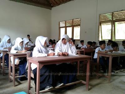 Aktifitas Belajar siswa baru TA 2016-2017