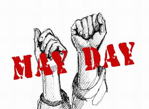 Hari Buruh 1 Mei (May Day) Dirayakan dengan Berjoget Bersama di Halaman GOR Kota Pematangsiantar Berlangsung Damai [Video]