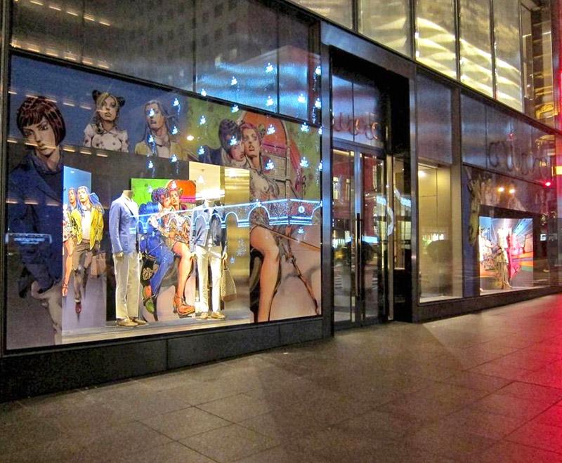 gucci storefront japan