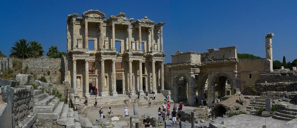 bibliothèque de Celsus