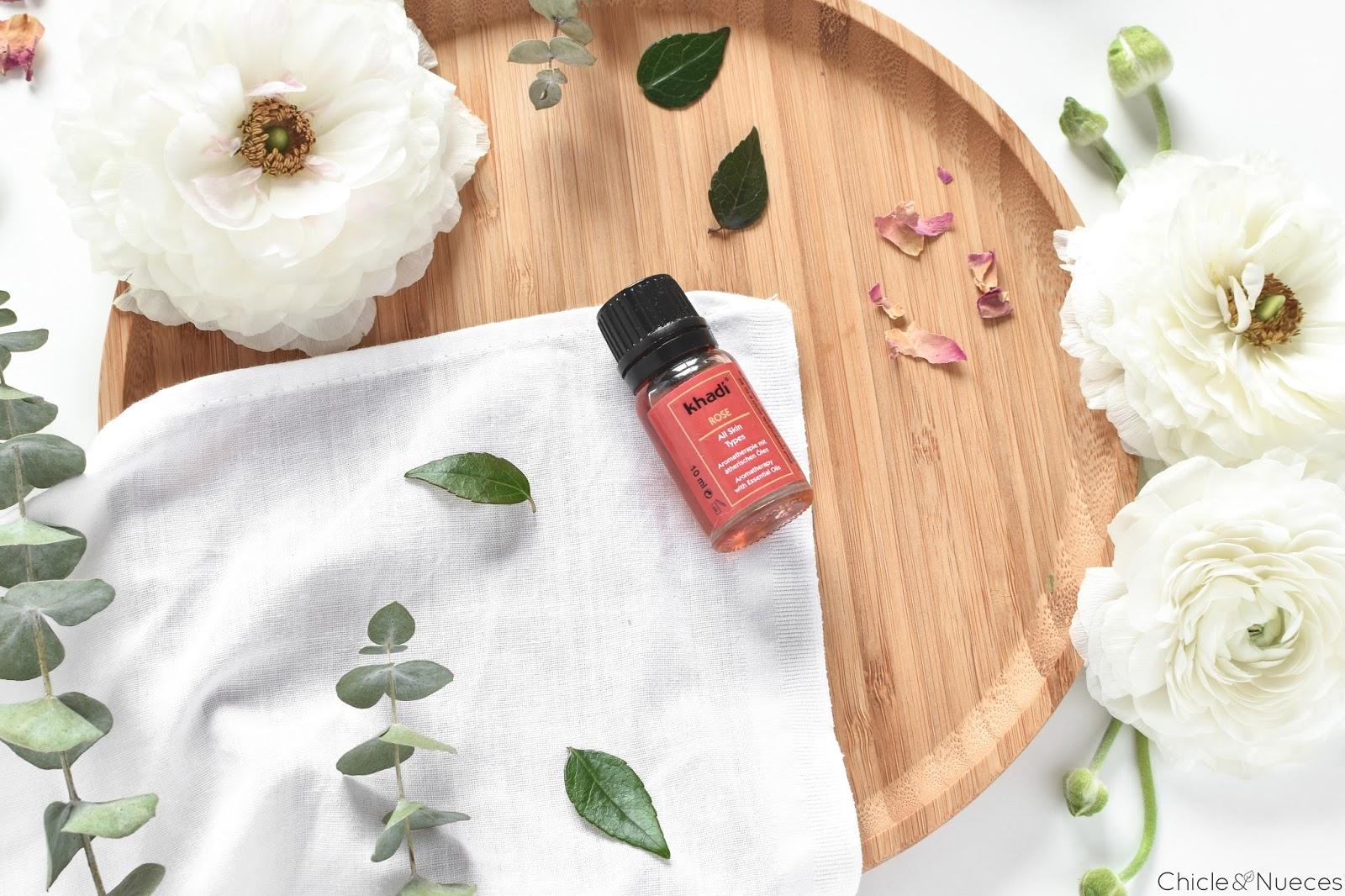 Aceite Rosa Khadi