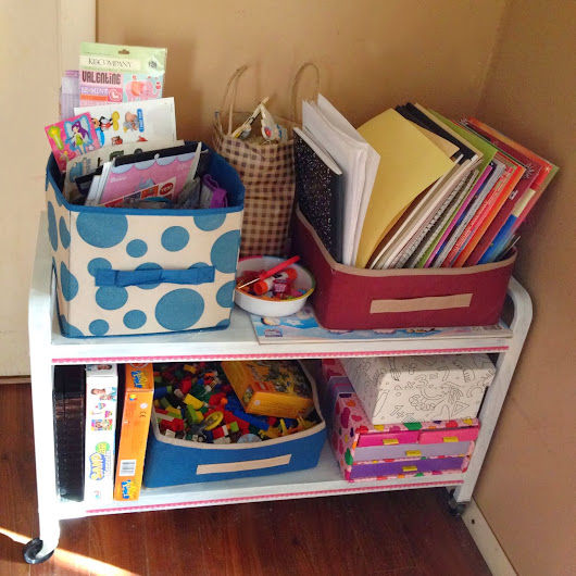 Happy Cake...and other fabulous things.: Makeover Monday: TV Stand to Art Cart