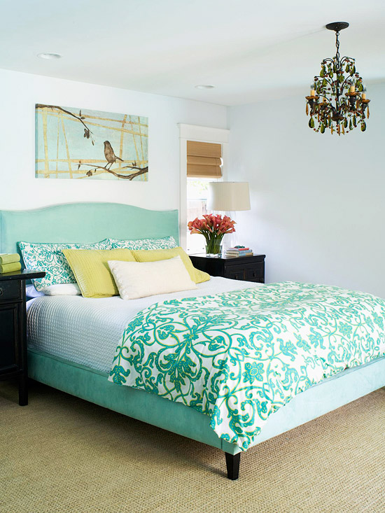 New Home Interior Design: Real-Life Colorful Bedrooms