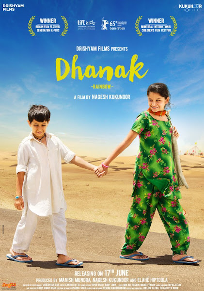 Poster Of Dhanak 2016 480p Hindi pDVDRip Full Movie Download