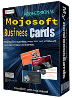 Mojosoft BusinessCards Computer Software