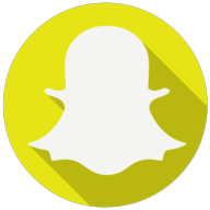 snapchat colorful icon
