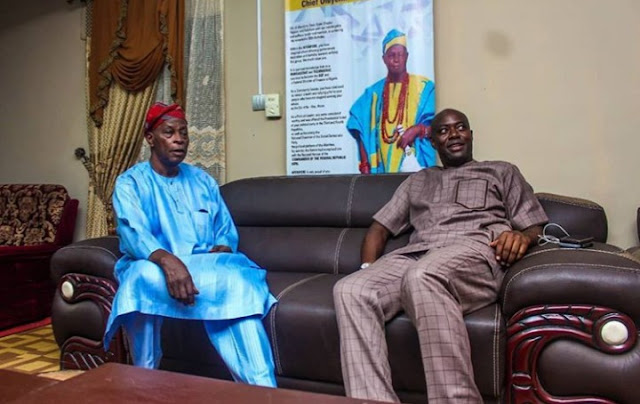 Humble Governor-elect Seyi Makinde Visits South West Leaders