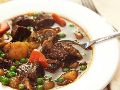 Pressure Cooker American Beef Stew