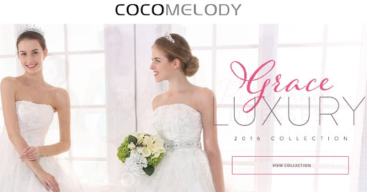 Cocomelody Designer Wedding Dresses | Xoxo City Girl