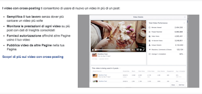 Video Cross Posting su Facebook