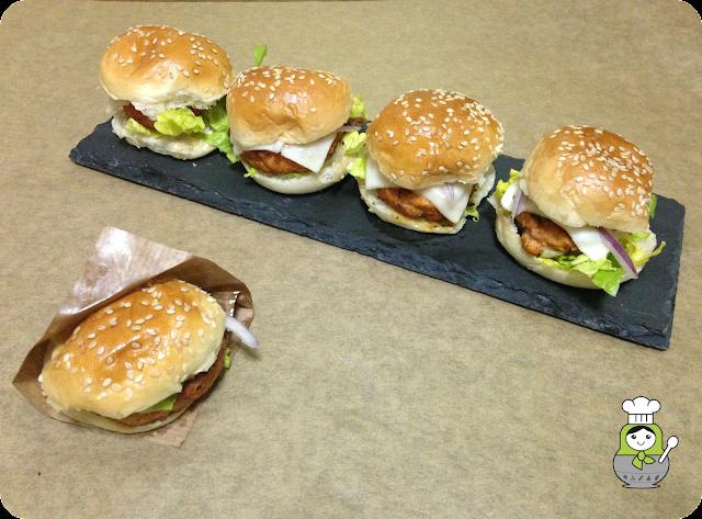 receta hamburguesas zanahoria y pollo