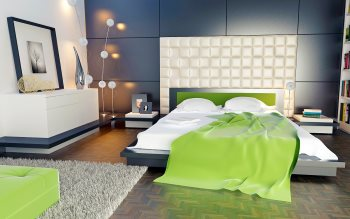 Wallpaper: Bedroom Design