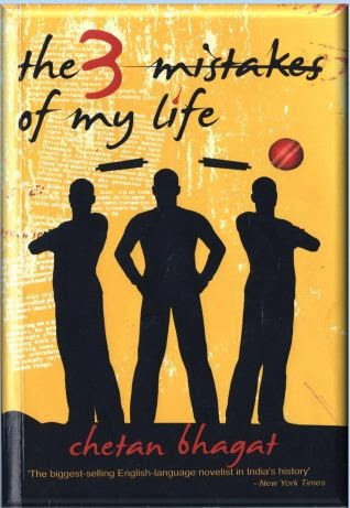 The 3 Mistakes of My Life- Chetan Bhagat
