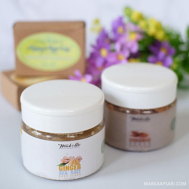 Review Ginger Sea Salt dan Cinnamon Sugar Mabello Makassar