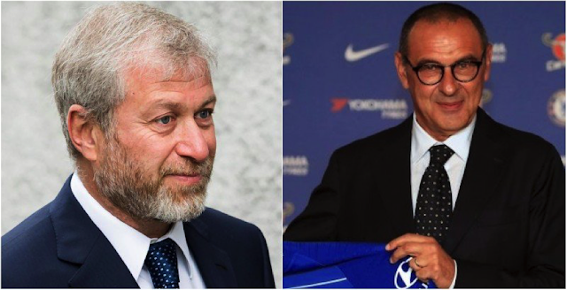 Abramovich's enthusiasm must be back with exciting Sarri appointment.