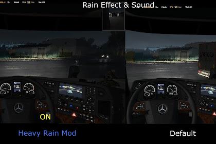 Heavy Rain v1.0 - ETS2 V1.34