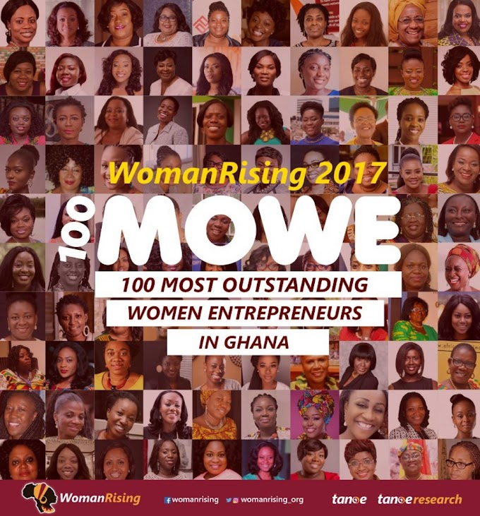Anita Erskine, Naa Ashorkor, Frimpong-Manso Deloris & others on 2017 100 Most Outstanding Women Entrepreneurs List