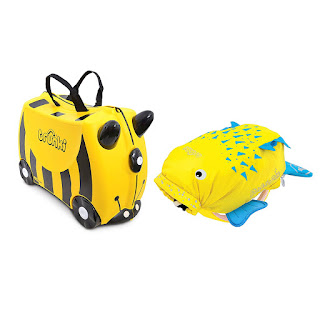 ready Yellow backpack Trunki Harley Xmas Bundle £31.99 Ride-On Suitcase + PaddlePak