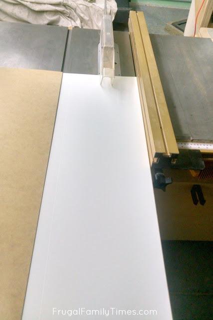 vertical shiplap cutting strips