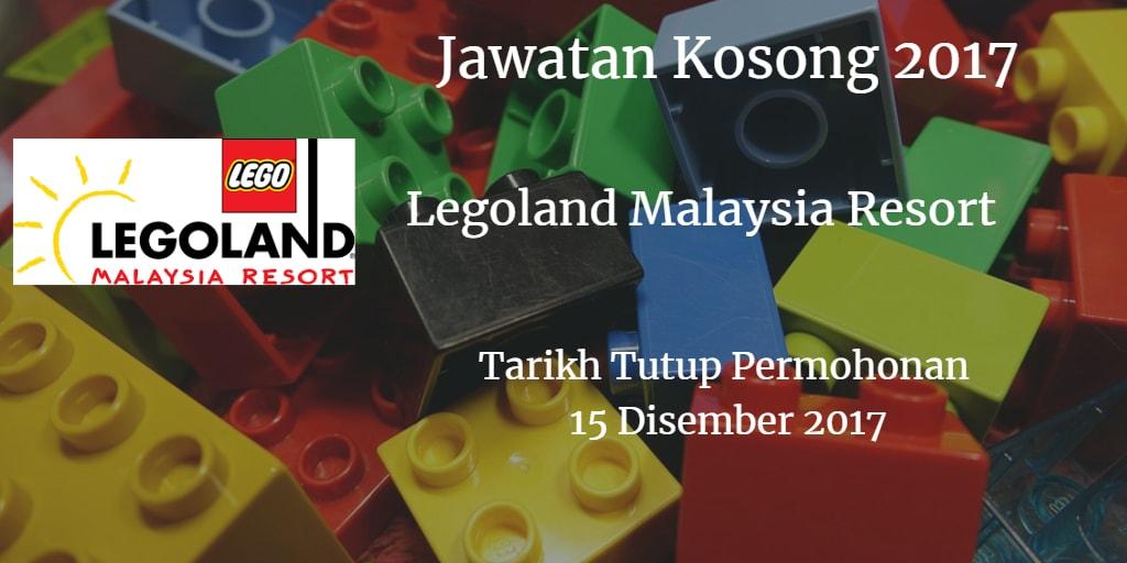 Jawatan Kosong Legoland  Malaysia Resort 15 Disember 2017