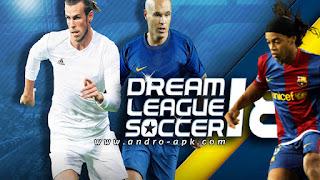تحميل  لعبة  dream league soccer 2018 مود الأساطير برابط مباشر