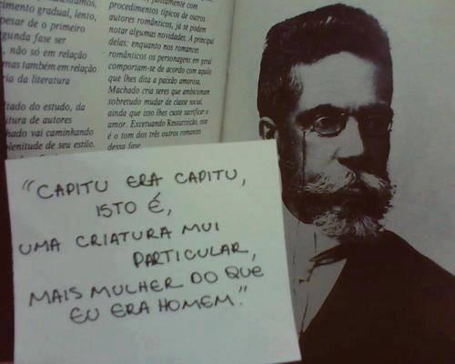 resenha Dom Casmurro Machado de Assis