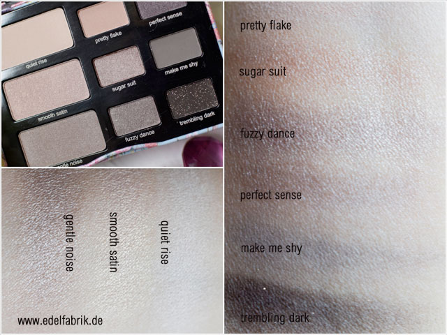 "Review, neue Limited Editon ""Fabulous Kit"" RdeL Young, Lidschatten Palette, Swatch"