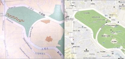 일본 지도에서 삭제된 한국 관광지