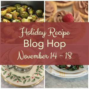 Holiday recipe blog hop