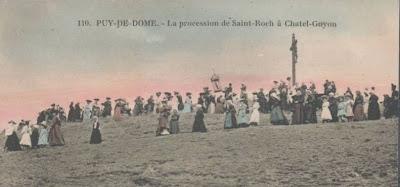 Saint Roch. pélerinage à chatel guyon