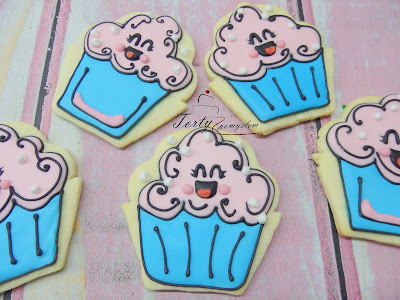 ciasteczka słodkie babeczki