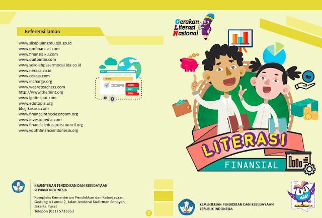 flyer literasi keuangan dari kemdikbud RI