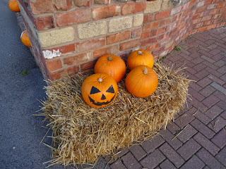 Halloween pumpkin at Southport Pleasureland