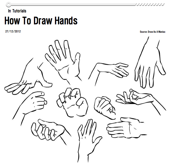 Sylvia Liu Land: Drawing Hands: Some Great Resources