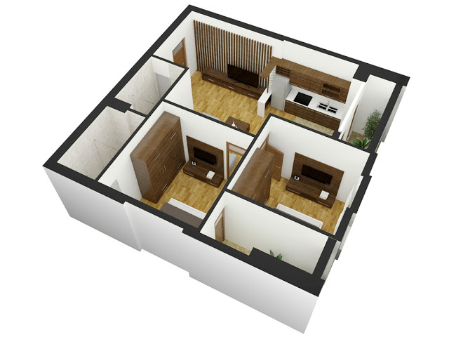 thiết kế căn hộ TBUDEC PLAZA