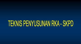 Bimtek Penyusunan RKA